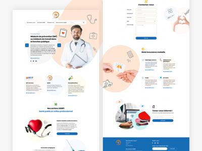 Vaccin insurance landing page