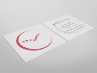 Freedom logo business card