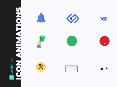 Lottie Animations animated icons icons set lottiefiles icons motion graphics motion design interaction design icon animation lottie animation lottie
