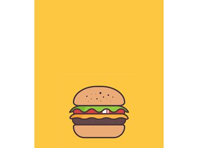 Burger Loader Shot illustration animation burger flyer burger logo burger menu illustration lottie animation lottiefiles lottie burger loader burger animation burger loader animation