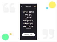 Quotes App Interaction