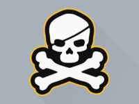 Pittsburgh Skull and Crossbones