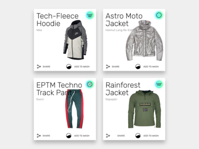 An app in the making. 02 apparel catalogue app