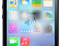 iOS 7 Volume