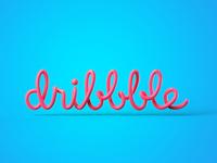 Dribbble Logo