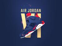 air jordan 6 painting