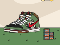 "Sneaker_ Dunk SB  ""Dog Walker"""