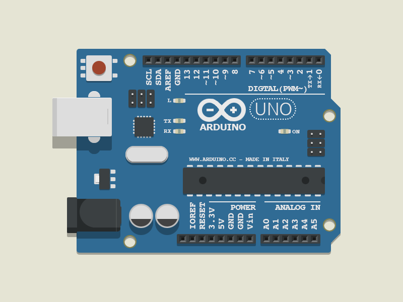 Ixd essentials arduino uno by fritz frizzante dribbble