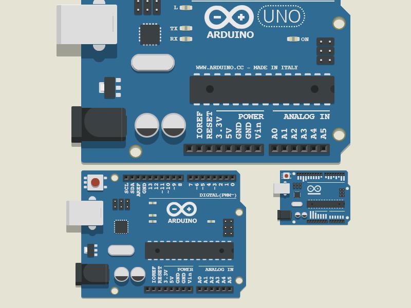 Arduino UNO by Fritz Frizzante - Dribbble
