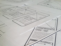 Quick and dirty Wireframes are fun!