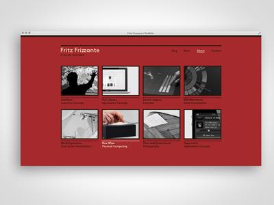 IxD Portfolio (redesign)
