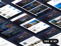 Free Travel UI Kit