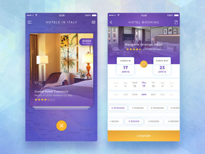 QuickBook Hotel Booking App ui kit ios hotel booking reservation book search psd best shot ux travel traveler