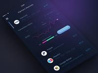 Conceptual Financial App Ui