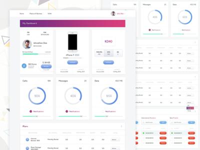 Conceptual E Commerce Dashboard Template web ui psd photoshop ui components e-commerce admin panel dashboard ui kit ui sales