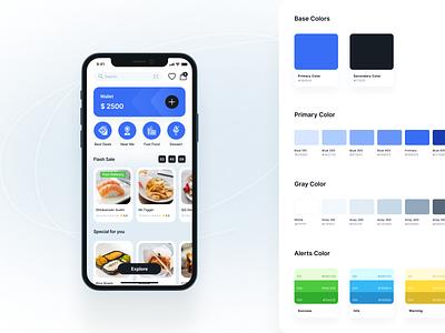 Design system for color palette design