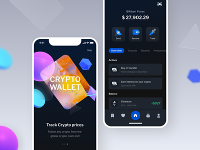 Crypto wallet design