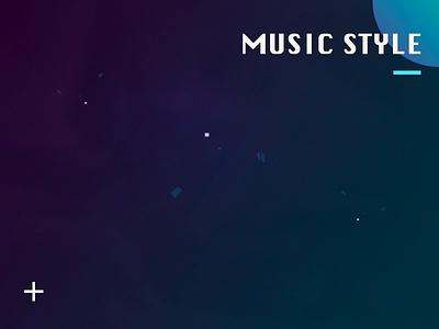 music light design ui