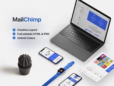 InfinityKit Complete Pack brand design invitation infographic business card email signature mailchimp stationery website minimal vector logo design branding free presentation