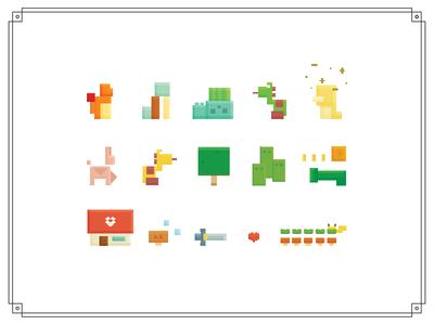 some childhood pixels