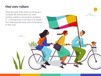 Slack.com redesign — Illustrations 02
