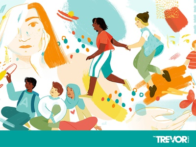 The Trevor Project inclusive lgbtq teens characters the trevor project