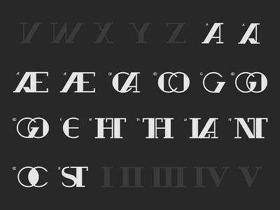 GANDHI™ Typeface ALT specimen collab inspiration wbd shadyau design clean letter letterhead abecedary font typography typo type typeface gandhi