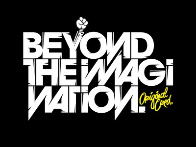 Beyond The Imagination beyond imagination type type treatment typo typography letters font avant garde avant garde shadyau wbd inspiration design yellow