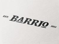BARRIO Logotype