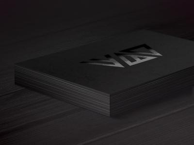 ▼▲▼ Business Card wbd business card print matte gloss black shadyau clean popular bc