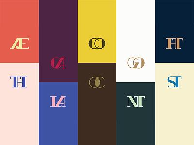GANDHI™ Ligatures gandhi colorful modern classic serif design ligatures typeface type typography