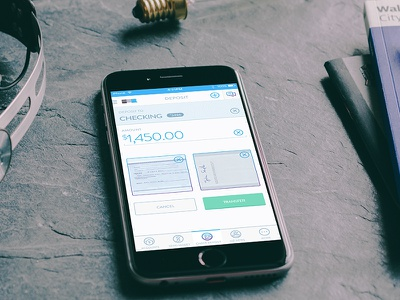 Bank Check Deposits ux ui finance money accounts mobile app check bank deposit