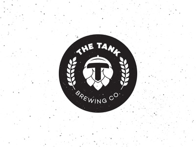 The Tank Brewing Co V1 brewery brewing co tank hops hop logo logotype beer craft