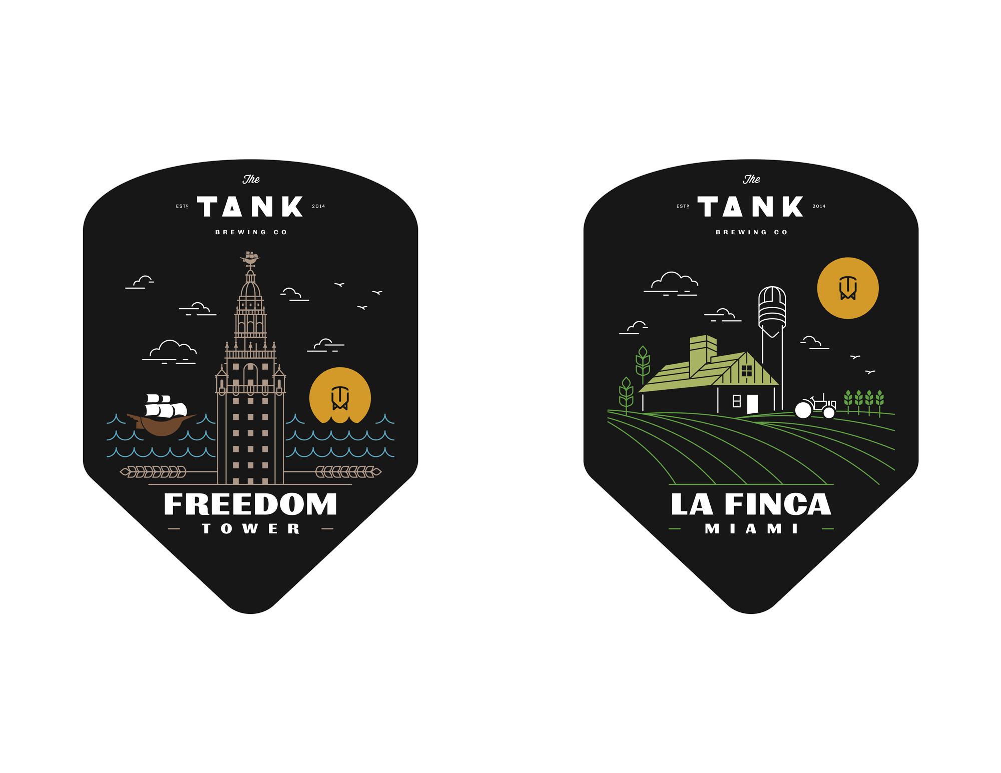 Tank labels 1