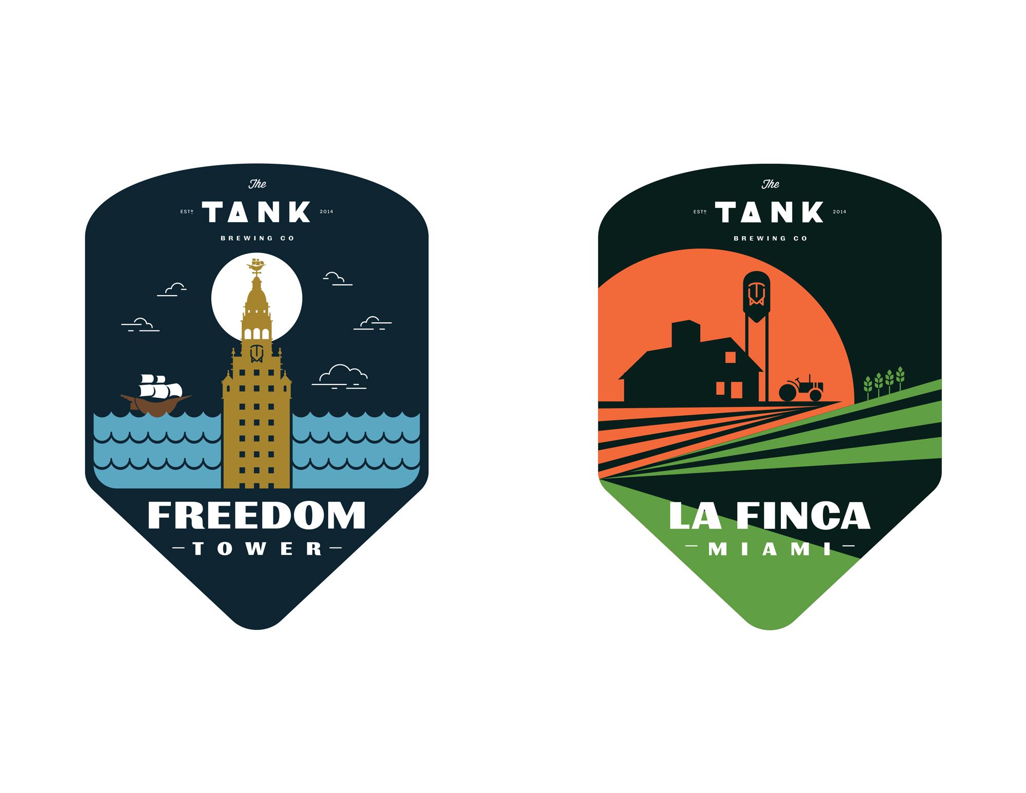 Tank labels 2