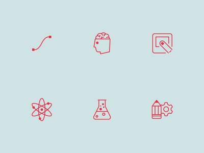Compelling Icon Set set flat symbols glyphs illustration design iconography icons