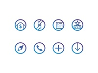 BankUnited Icon Set