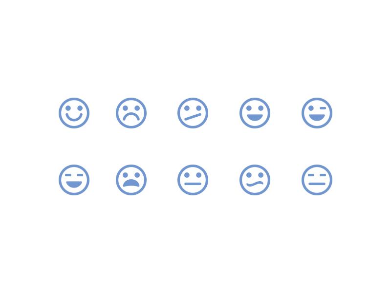 Type 2 emoticons