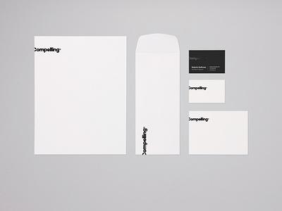 Compelling® typograhy design logotype brand logo branding compelling