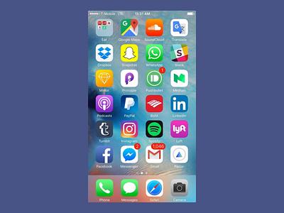 UI Challenge - News App prototype interface uidesign ux ui