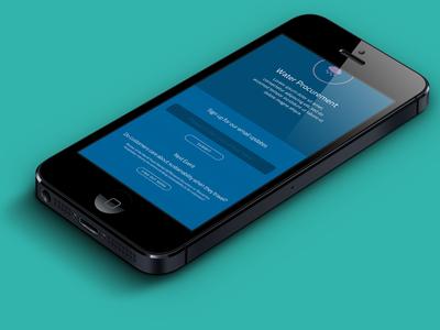 Mobile UI – WIP
