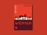 Bauhaus Anniversary Posters – Weimar