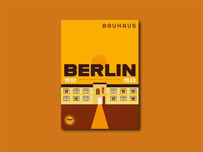 Bauhaus Anniversary Posters – Berlin branding type logo bauhaus100 germany bauhaus poster design poster illustrator typography vector design illustration graphic design