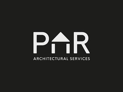 PAR Architectural Services architecture vector logo design identity mark branding icon type logo typography design graphic design