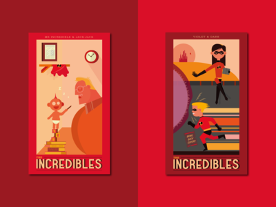 The Incredibles Prints