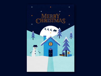 Christmas Card 2019 type vector design type design typography graphic designer illustration 2019 xmas christmas cards christmas card graphic design christmas