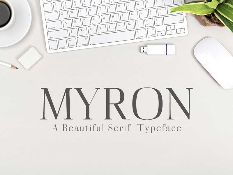 Download Myron Serif Typeface