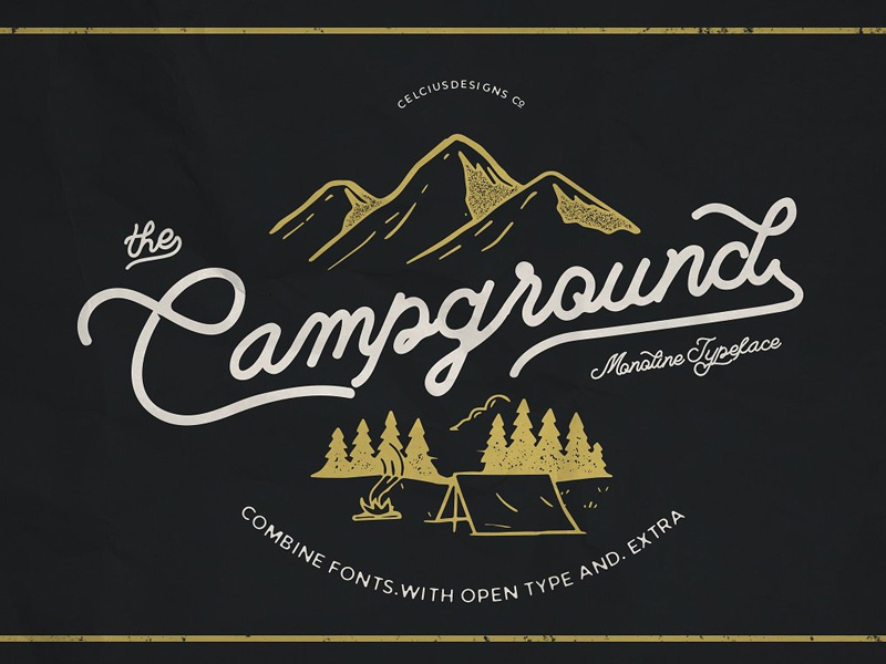 Campground Font