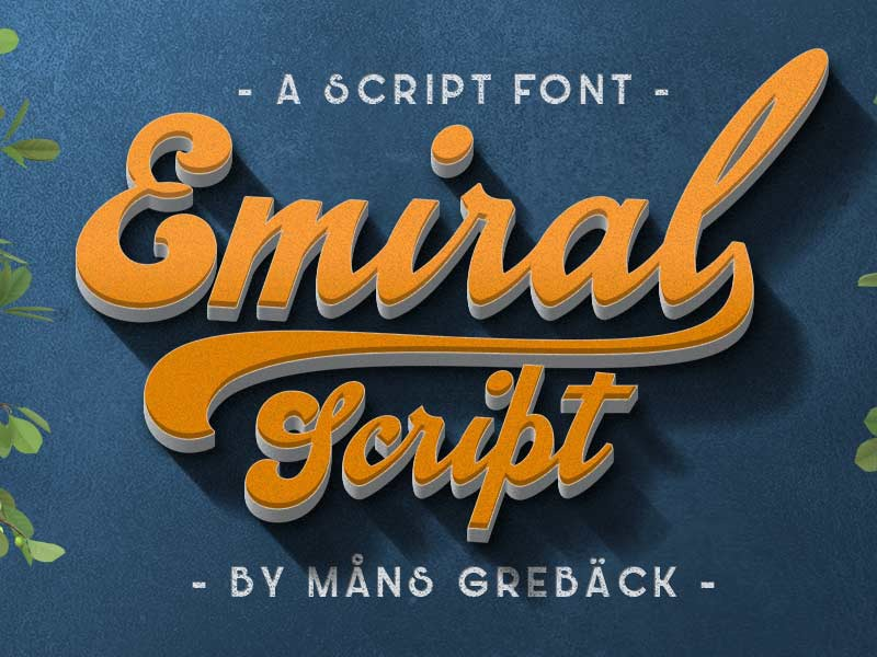 Emiral Script Font