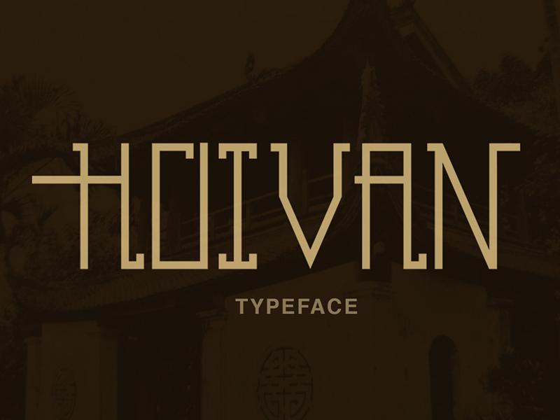 Hoivan Free Font
